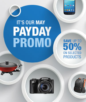 May Payday Promo